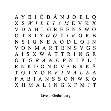 Live in Gothenburg