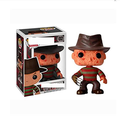 Pop A Nightmare Doll Decor Toy On Elm Street Freddy Krueger #134 Action Figures Vinyl Collection Kids Toys Xmas Gift