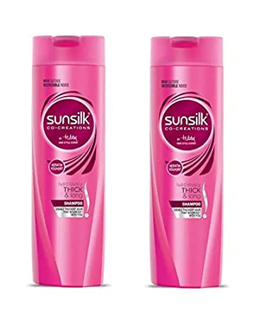 Sunsilk Lusciously Thick and Long Shampoo, 180ml (Pack of 2)
