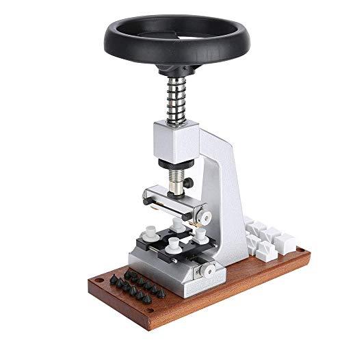 M I A Abrecaja de reloj de banco, removedor de caja de reloj, acero y aluminio para relojeros reparación de relojes trabajadores