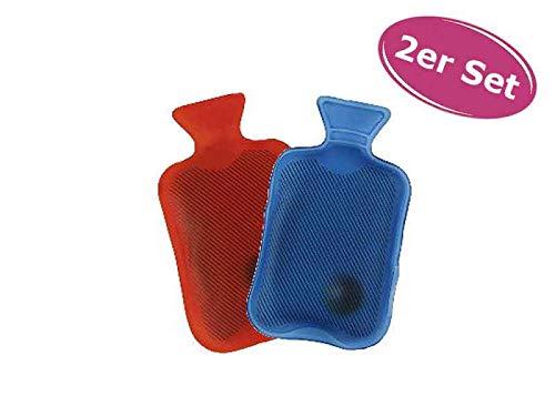 itsisa Taschenwärmer Wärmflasche, 2er Set - Wichtelgeschenk, Handwärmer, Taschenheizkissen
