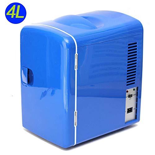 Lieling Mini-autokoelkast, minibar, stil, thermo-elektrische koel- en verwarmingsfunctie, drankenkoelkast, DC12V, voor cars, homes, office
