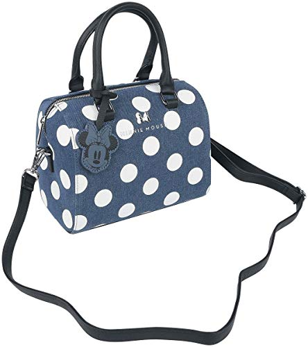Micky Maus Loungefly - Minni Frauen Handtasche blau Baumwolle Disney, Fan-Merch, Loungefly