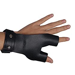 leather archers gloves