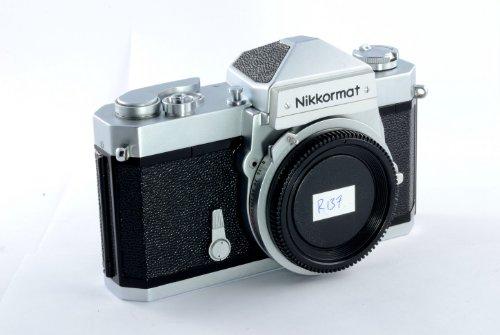 Chrome Nikon Nikkormat FTN 35MM Professional SLR film camera