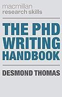 The PhD Writing Handbook (Macmillan Research Skills)