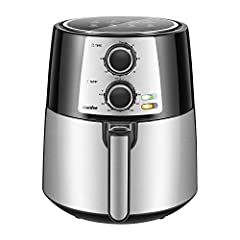 OIL FREE - The air fryer cooker can reduce 90% oil for healthy diets and allows you to make crispy entrees and side dishes with almost no oil. Cooking with our air fryer oven is a fun and easy way to provide your family with healthy and delicious mea...