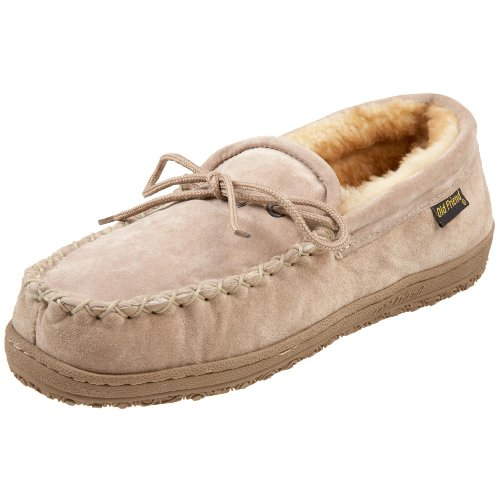 Old Friend Men's Loafer Moccasin Slipper, Chestnut, 9 M