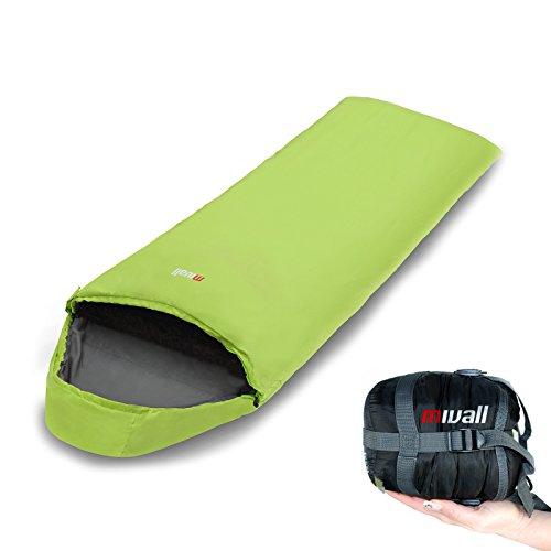 Mivall Patrol Schlafsack Lemon Decke Ultraleicht klein warm Tourenschlafsack