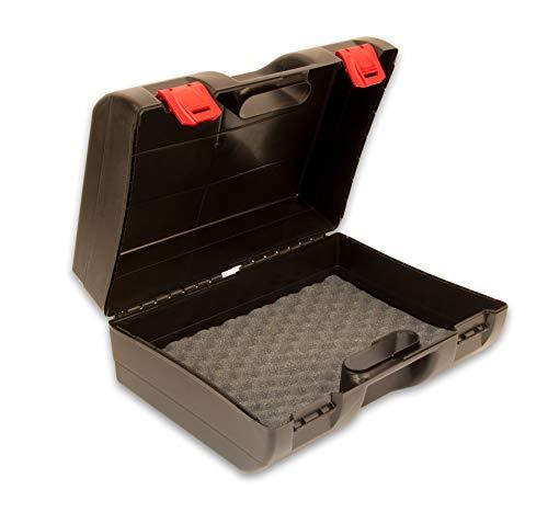 BigDean Toolbox Case Premium 40x32x18cm - Werkzeugkoffer für Elektrowerkzeug mit Schaumstoff-Einlage