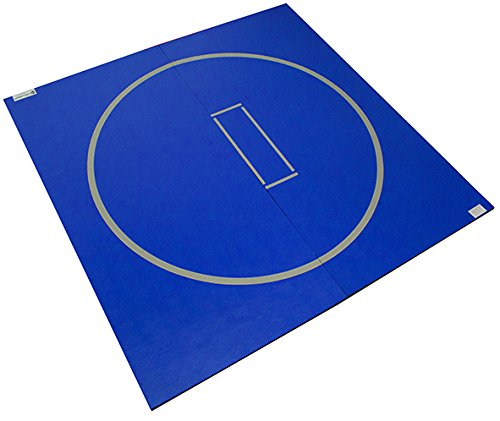 Dollamur 10'x10' Flexi-Roll Wrestling Home Mat (Royal Blue)