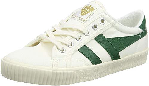 Gola Damen Tennis Mark Cox Sneaker, Weiß (Off White/dk.Green Wn), 38 EU