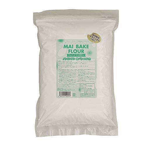 米粉 あきたこまちマイベイクフラワー 製パン用 小麦グルテン不要 100%米粉 1kg