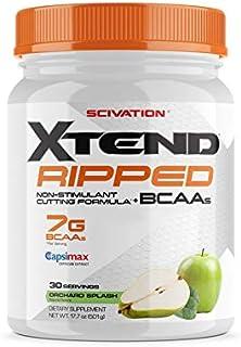 【海外直送品】Scivation Xtend Ripped BCAA 30杯分 (オーチャード・スプラッシュ)