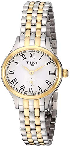 Tissot Damen-Uhren Analog Quarz One Size Edelstahl 86949377