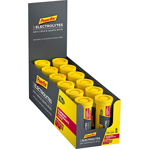 Powerbar 5 Electrolytes Sports Drink Raspberry Pomegranate - 12 Unidades