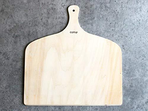 cotta cotta フランスパン取り板 大 茶 長さ410(持ち手込み)×幅390×厚み約4mm 92236