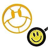 ZXIU 1 Stücke Lächeln Gesicht Ei Form Silikon Lächeln Geformt Pfannkuchen Omelett Gerät Ei Werkzeug Küche DIY Spiegelei Form