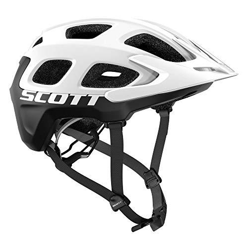 SCOTT 275205 Fahrradhelm, Weiß/Schwarz, S