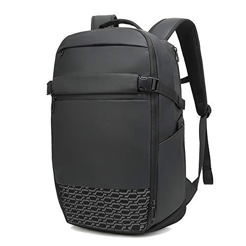 XinMeiMaoYi Mochila al aire libre de los hombres de negocios mochila multifunción expandible bolsa de ordenador al aire libre mochila
