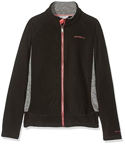 O'Neill Mädchen Kinder Kapuzenjacke Slope Zip Hoodie Girls Shirts & Fleece, Black Out, 176