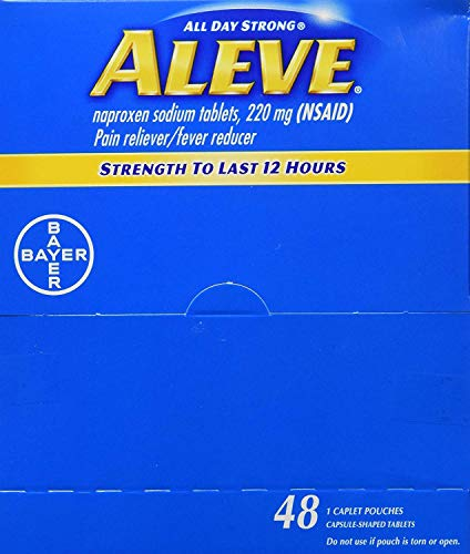 Aleve Case of 48 Single Dose Packets