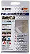 Devcon Epoxy Bathtub Repair Kit (Almond & White)