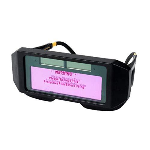 Dreafly Gafas de Soldadura de oscurecimiento Solar, Gafas de Soldadura de oscurecimiento Solar automático Ojos de Soldador Casco Protector de Lentes de Ojo Herramientas para máscara de Soldadura
