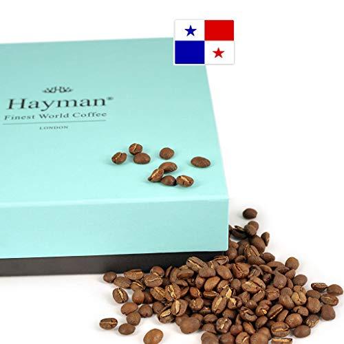 100% Geisha Kaffee aus Panama - Geröstete Bohnen - Einer der besten Kaffees der Welt, frisch geröstet für Sie! (Schachtel mit 200g/7oz)