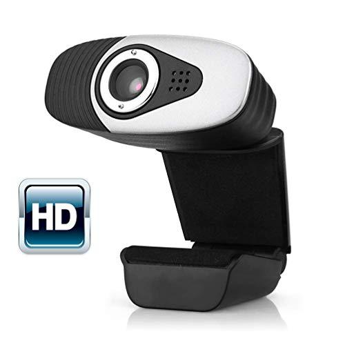 HZJ Computer Webcams, Webcam Mit Mikrofon Für PC Mit Großem Bildschirm HD Videotelefonie HD-Light-Correction Für YouTube/Twitch/Xsplit/PC/Mac/Laptop/MacBook/Tablet