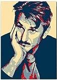 Leinwand Bilder 60x90cm Kein Rahmen Sean Penn Poster Kunst