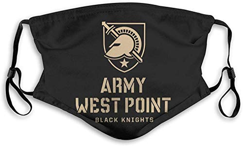 West Point Military Academy West Point Academy Logo Womens Man Dust Masks Outdoor-Black-Small