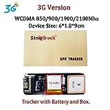 Locator Mini Impermeabile Builtin Batteria gsm GPS ST-901 for l'automobile del Veicolo Moto 3G con Il Software di monitoraggio Facile da installare (Color : 3G Version Bat Box)