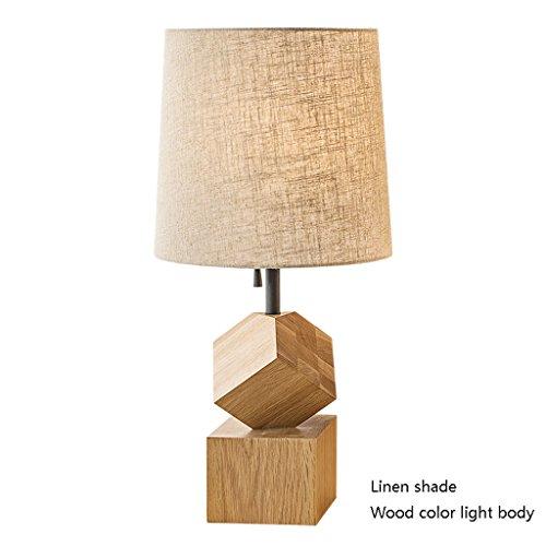 Eenvoudige moderne persoonlijkheid woonkamer studie slaapkamer bed massief hout bureau lamp