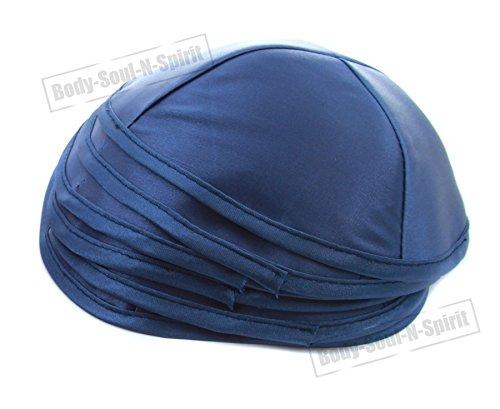 5 Kipot satijn blauw joodse hoed etnische hoofddeksel Yamaka Israel