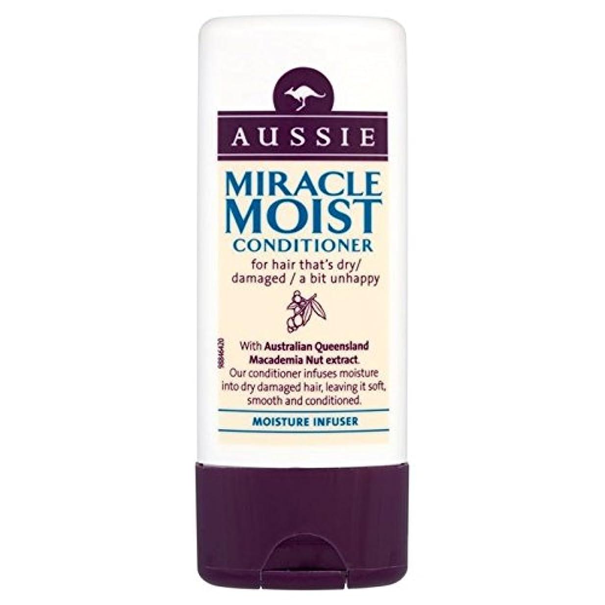 後継トリップ一定Aussie Miracle Moist Travel Conditioner 75ml - オージー奇跡湿った旅行コンディショナー75ミリリットル [並行輸入品]