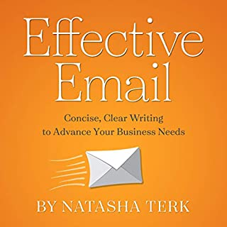 Effective Email audiobook cover art