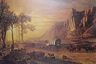 11 x 14 Inch Puzzle 252 Pcs Covered Wagon Train Old West