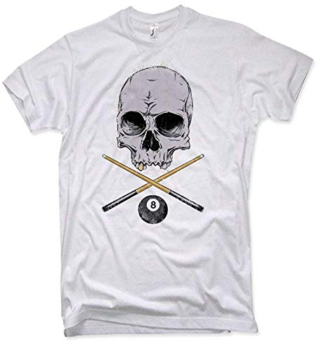 NG articlezz – T-Shirt – Billard Skull Oldschool Gr. S-5XL