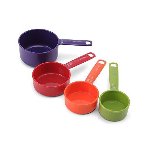 Farberware Measuring Cup Set, 4-Piece, Black