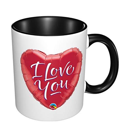 Tazas de café impresas personalizadas, taza de té de 11 onzas para oficina y hogar