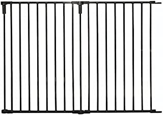 Regalo 36-Inch Wide 2 Panel Extension Kit for Home Decor Super Wide Adjustable Gate Extension Kit, Black