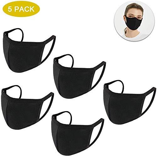 Tianfu 5 Pcs, Negro, Neutro, Disponibles Para Hombres y Mujeres