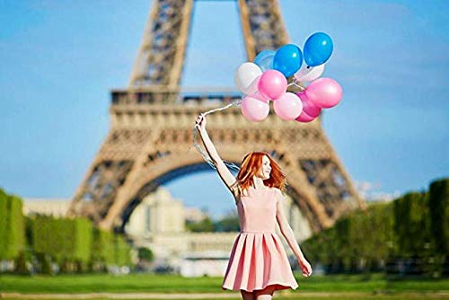 KELDOG® Houten puzzels 1000 stuk voor volwassenen - Paris Tower Bride neemt de ballon, Art Puzzle Game Toys, uitdagend Diy Modern Love Unique Gift Decoration
