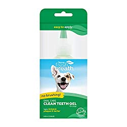 Tropiclean Plaque Remover Gel - Best Dog Teeth Cleaning Products