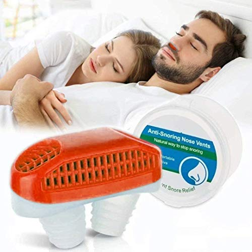 2 in 1 Anti Snoring Devices, Snore Stopper for Stop Snoring and Good Breathing - Safe, Instant and Effective Air Purifier, Nose Vents Plugs for...
