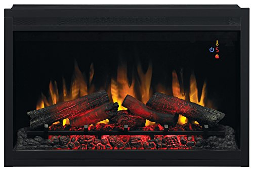 """ClassicFlame 36"""" Traditional Built-in Electric Fireplace Insert, 120 volt"""