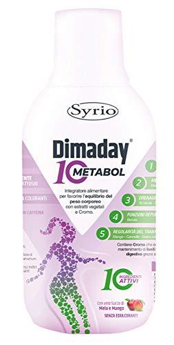 Syrio Integratore Alimentare Dimaday Metabol 10, Multicolore, 500 Millilitri