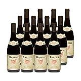 Roncier Rouge Rouge - Appellation VDF Vin de France - Origine Bourgogne - Vin Rouge de Bourgogne - Lot de 12x75cl - Cépage …