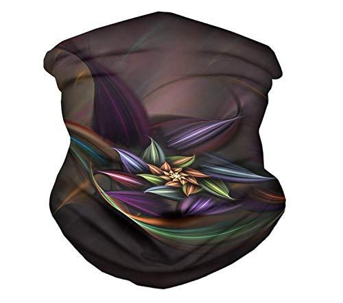 YWCXMY-LDL Máscaras de impresión Floral de la Flor 3D del pasamontañas de la Cara de la Bufanda al Aire Libre a Prueba de Polvo Boca de Cara for el Festival Mujeres Decoración Bandana Muñequera